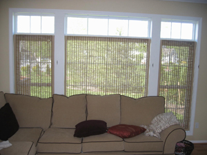 Ultimate Install Window Blinds Arch Window Center Mount